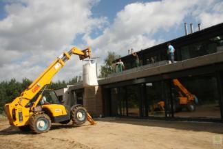 Ogród nowoczesny z ogrodem na dachu – budowa 2010